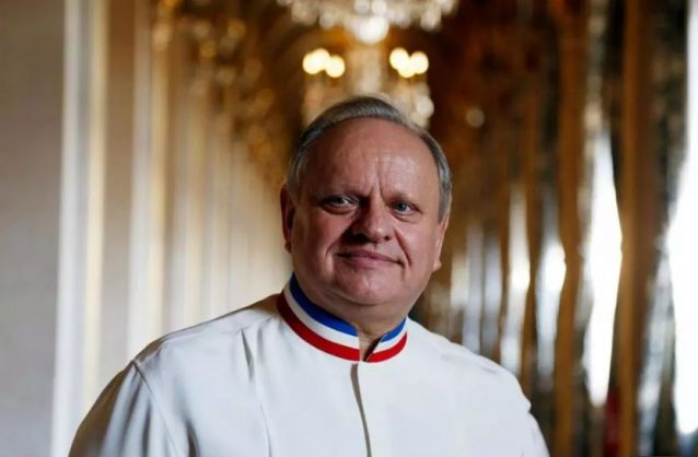 Late French master chef Joel Robuchon. Picture: AFP.