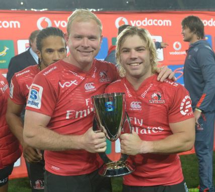 Ross Cronje and Faf de Klerk are good mates but they're used to competition. Photo: Gallo Images.