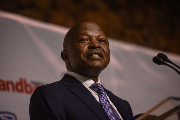 Deputy President David Mabuza is seen during his key note address at the Wildswinkel's auction venue in Bela-Bela during Landbouweekblad and Agri SA's land summit where farmers across the board can converse with each other, 23 August 2018, Limpopo. Picture: Jacques Nelles