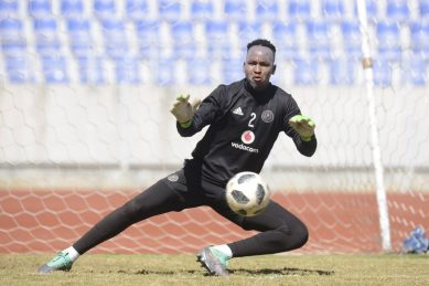 Pirates goalkeeper's Ferrari gear causes a stir