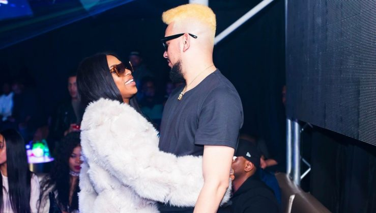 DJ Zinhle and AKA. Picture: twitter