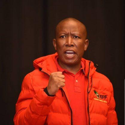 Malema says he isn't scared of 'pathological liar' Trump