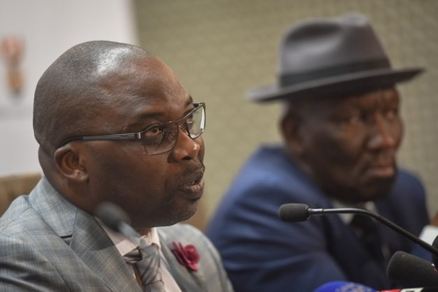 Justice Minister Michael Masutha during a press briefing at the GCIS Pressroom, 14 August 2018, Pretoria. Picture: Jacques Nelles