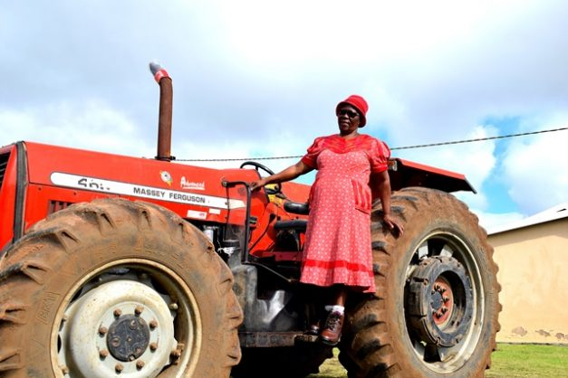 Women working the land and leading communities