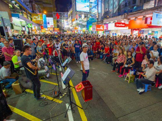 Hong Kong buskers silenced