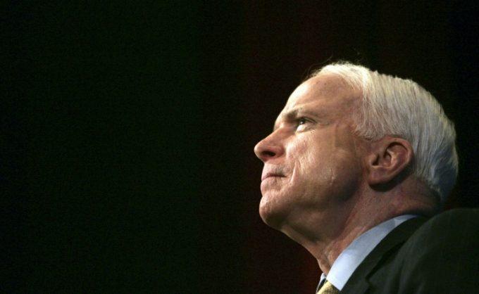 US Senator John McCain. Picture: AFP/