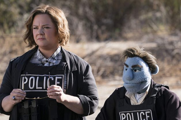 Melissa McCarthy and Bill Barretta in The Happytime Murders. Picture: Hopper Stone