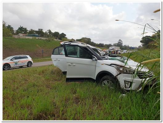 Biker dies, six people injured in two Durban crashes