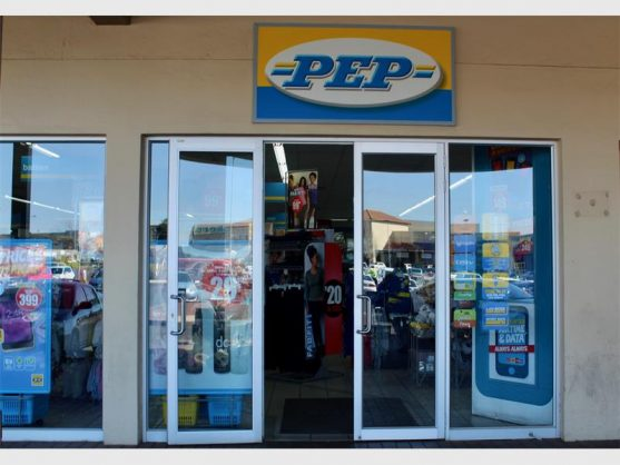 Despite an armed robbery in the morning, PEP's doors were open to customers later the same day.