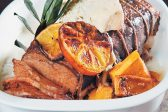 Recipe: Roast rib of beef with baked citrus butternut and melted Gorgonzola
