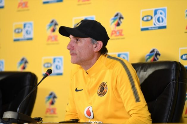 Kaizer Chiefs coach Giovanni Solinas  (Photo by Lefty Shivambu/Gallo Images)