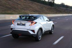 Toyota C-HR Luxury is a range topper