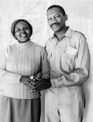 Zondeni Veronica Sobukwe  and husband Robert Sobukwe