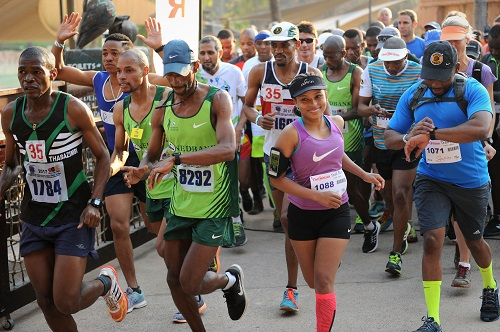 Runners are seen at The Citizen Sun City Trail Run, 16 September 2017, at Sun City in Rustenburg. One-thousand-five-hundred runners took to the picturesque trails around Sun City to compete in either the 21km, 10km or 5km runs. Starting at the Valley of the Waves, the routes took athletes through the gardens of the Lost City, into the near-by nature reserve, and around the Gary Player Golf Course. Picture: Michel Bega