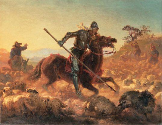 Don Quixote. Picture: iStock