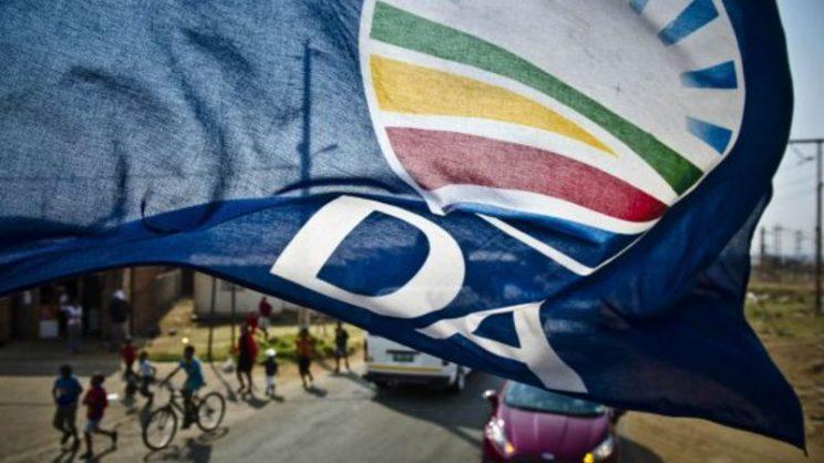 DA flag. Picture: Twitter