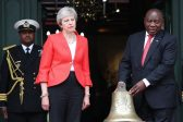 What Brexit queen Theresa was really up to with Africa visit