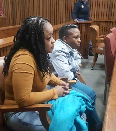 Schoolgirl Boitumelo Dlamini's killers Cynthia Mosupi (left) and Sharon Gugu Thwala.