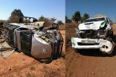 ANC's 'biggest supporter's' campaign vehicles all smashed up