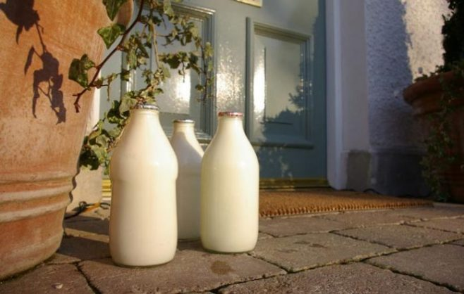 Milk In Glass Bottles Delivered To Your Door Makes A