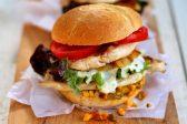 Recipe: Chicken burger with atchar and mint raita