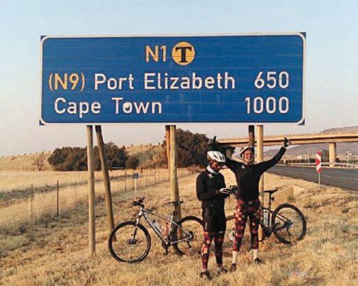 Sibusiso Buthelezi and Lindsay van der Byl. Image: Supplied