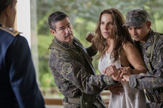 Emilia Urquiza as Kate del Castillo in Ingobernable. Picture: Netflix