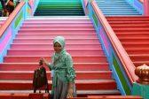 Malaysian Hindu temple complex gets technicolour paint job