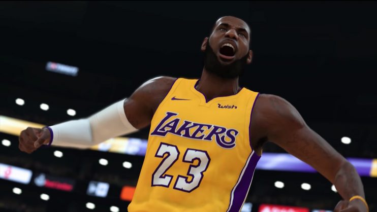 LeBron James in NBA 2K19. Picture: 2K SPORTS