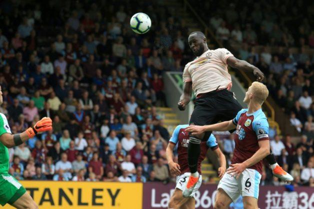 Romelu Lukaku got both goals for Manchester United at Turf Moor.