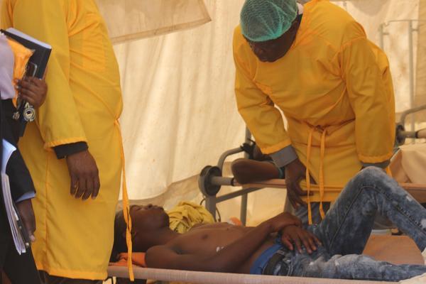 Mnangagwa tours Harare's cholera epidemic hotspots
