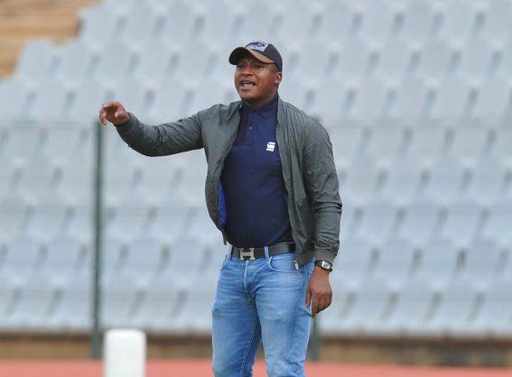 Mokete Tsotetsi coach of Maccabi FC (Pic Sydney Mahlangu/BackpagePix)