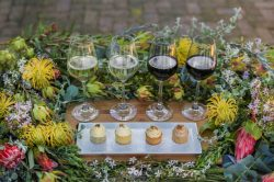 Experience fynbos-inspired cupcakes paired with wine