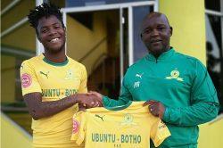 Mosimane likens Mahlambi to Billiat and Tau