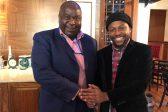 Tito Mboweni amazed that he's taller than Ndlozi
