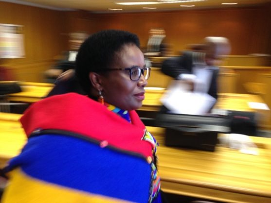 Murder-accused Bulelwa Ndudula appeared in the East London High Court, 7 September 2018. Picture: ANA