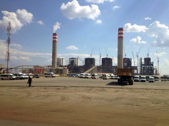 Tubular Technical Construction is still on site at Kusile Power Station, despite there being an application for the provisional liquidation of its main shareholder, September 2018. Picture: Moneyweb
