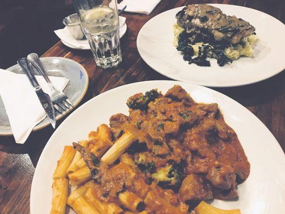 Primi Piatti pasta. Picture: Tshepiso Makhele