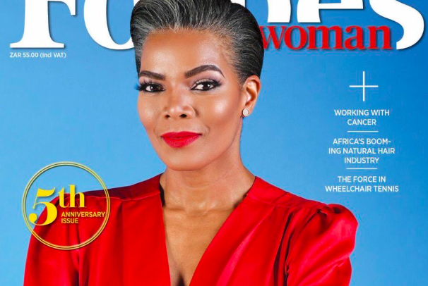 Connie Ferguson stuns on the cover of Forbes Woman