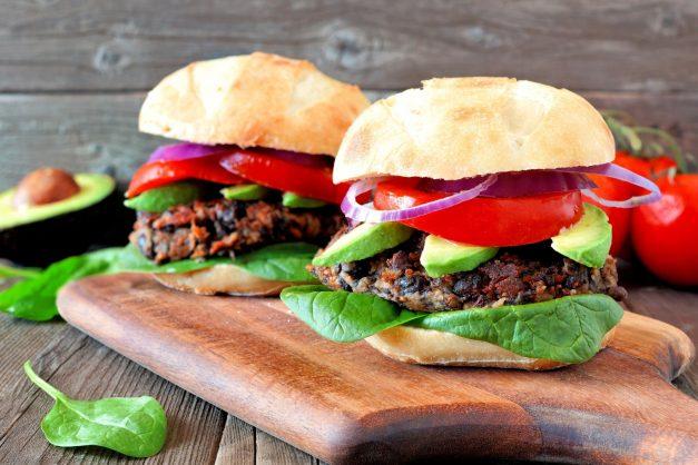 Lentil burger. Picture: Shutterstock