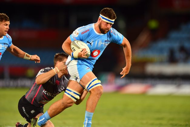 Nic de Jager of the Blue Bulls during the Currie Cup match between Vodacom Blue Bulls and iCOLLEGE Pumas at Loftus Versfeld on September 14, 2018 in Pretoria, South Africa. (Photo by Johan Rynners/Gallo Images)