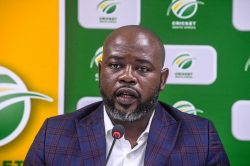 CSA chief Thabang Moroe suffers a dose of foot in mouth disease