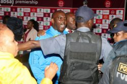 Police confirm assault charge against Mosimane