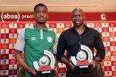 Komphela and Ndengane win PSL monthly awards