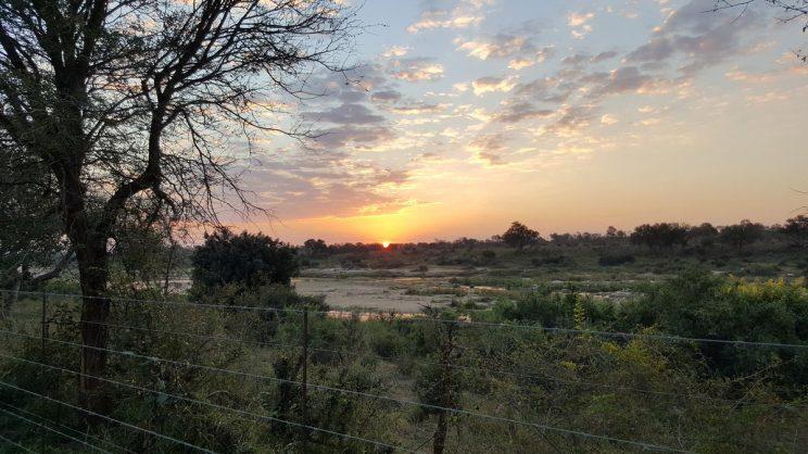 Sunset on the Crocodile River. Image: Twitter/@JGvanZyl_ZA