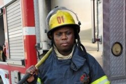 Born a firefighter, growing into a hero