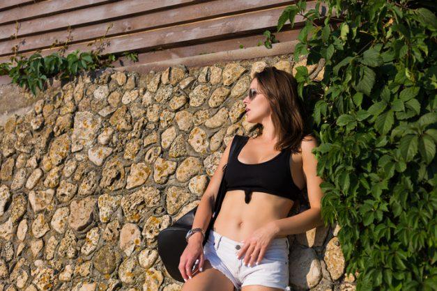 Get the summer look: Denim shorts