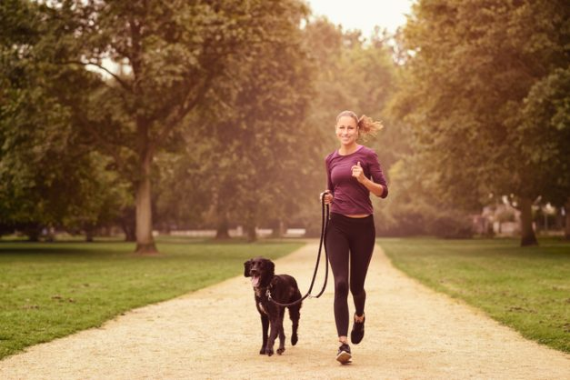 Nine tips for getting fit with your dog