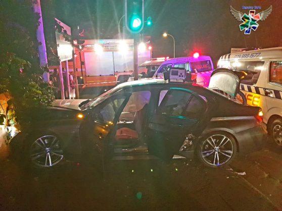 Saturday's accident scene. Image: Berea Mail
