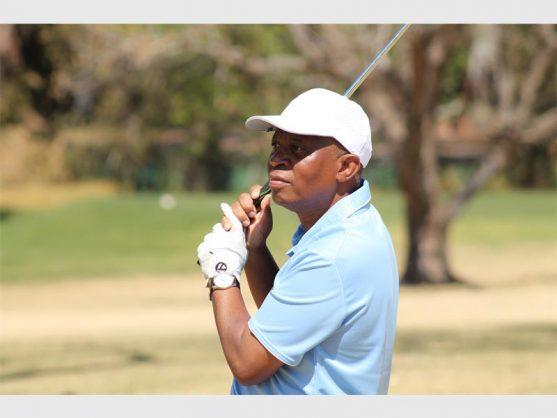 Mashaba at the Mayoral Charity Golf Day 2018.